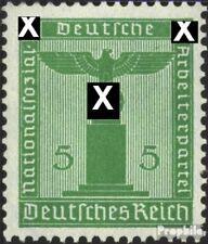 Imperio Alemán d147 nuevo 1938 sello de franqueo oficial