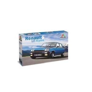 RENAULT 5 ALPINE  1:24 Italeri 3651  kit montaggio plastica