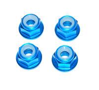 1/10 Rc Blue Wheel Nuts For Tamiya Grasshopper Holiday Buggy Lunchbox Frog