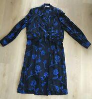 Liz Claiborne Size 14/16 100% Silk Long Sleeve Vintage 80s NWOT Dress - A12