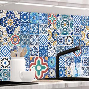 Küchenrückwand - MAROKKO FLIESEN - selbstklebend, PRO Version, PVC 0.2mm