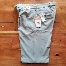 Tommy Bahama Silk Blend Sisal Color Pants Men Size 30x34 Actual L33.25 MSRP $138