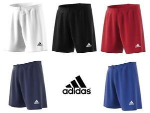 Adidas Boys Shorts Junior Kids Climalite Sports Football Gym Training Age 5-16