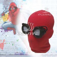 Free Ship Spider-man:Homecoming Superhero Cosplay Mask with Eye Lense Halloween