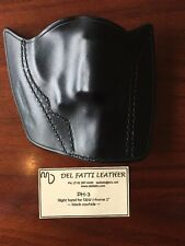 Del Fatti PH-3 For J-Frame Right Hand Holster Black