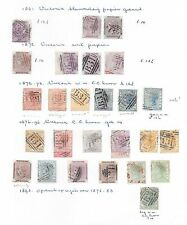 Sierra Leone stamps 1861 Collection of 28 CLASSIC stamps  CAT VALUE $500