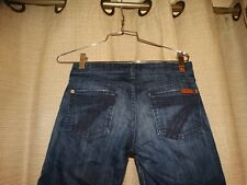 7 SEVEN FOR ALL MANKIND womens 26 crop dojo jeans pants
