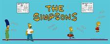 Simpsons Arcade Game control panel overlay