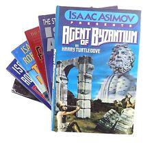 Lot (7) ISAAC ASIMOV Books Positronic Man Magic Byzantium Utopia Foundation Fear