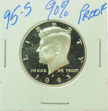 1995 S US Mint Kennedy Half Dollar Proof Silver Coin