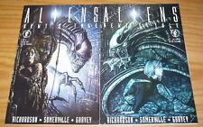 Aliens: Newt's Tale #1-2 VF/NM complete series - john bolton - dark horse set