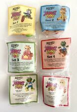NEW Muppet Babies McDonalds Happy Meal Toys Complete Set 6 Vtg 1986 Sealed NRFP