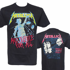METALLICA - AND JUSTICE FOR ALL -  T Shirt  LARGE