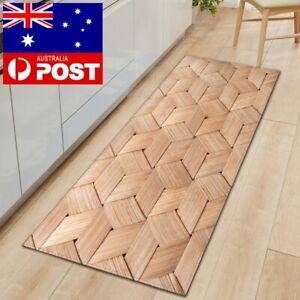 Kitchen Floor Mat Home Bathroom Entrance Rug Easy Clean Non-Slip Anti-Oil Carpet