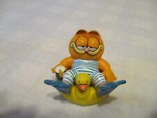 GARFIELD PVC figure Garfield in a duck float