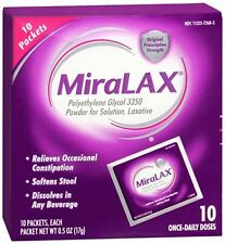 MiraLAX Powder Packets 10 Each (Pack of 5)