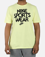 Nike Sportswear NSW Concept Graphic Tee Yellow Large NWT Retro *SAMPLE* NEW