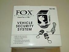 Fox Electronics Vehicle Security System ~ Nos ~ Never Used