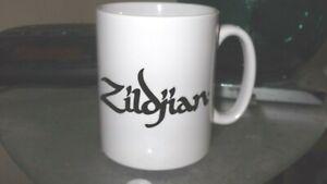 Zildjian CoffeeTea Mug / Cup, Xmas Gift Cymbals , Drumsticks. Percussion