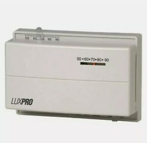 LUXPRO Psm400sa Mechanical Thermostat Heating & Cooling
