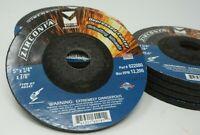 """10-PK Zirconia Depressed Center Wheel 5"""" x 1/4"""" x 7/8"""" Type 27"""