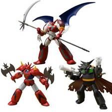 Super Minipla VOL.2 Black Getter + Dragon + Shin Getter 1 Caja Set Robot Bandai