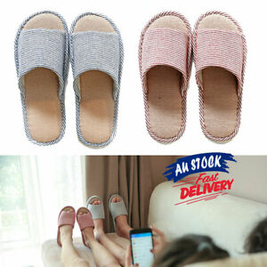 Warm Shoes Slippers House Soft Floral Indoor Floor Non-slip Couple Home Linen