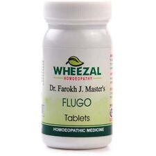 Homeopathic Wheezal Flugo 75 Tablets For Flu, Headache, Free Shipping