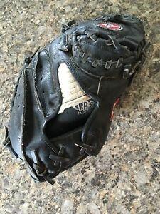 Easton Black Magic Leather Catcher's Mitt Glove BMX22B Right Hand Throw 33 Inch