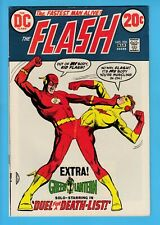 The FLASH # 220 FNVF (7.0) 1st TURTLE APP. in 15 years- GREEN LANTERN- CENTS- DC