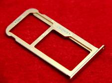 carrello Vassoio alloggio Micro Sd + porta scheda nano Sim x HUAWEI P9 LITE GOLD