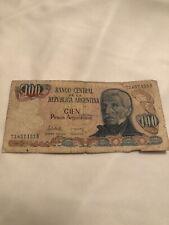 Banco Cien Pesos Argentinos 73657153b