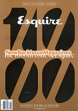 Esquire 10/15,1000th Issue,October 2015,NEW