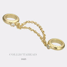 Authentic Endless Silver Gold Plated Chain of Love Gold Bead 1625