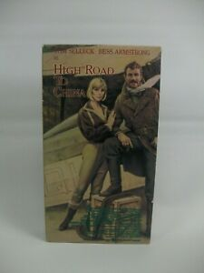 High Road To China VHS Cassette Tape Play Tested Works Tom Selleck