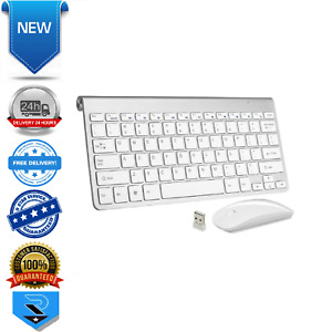 Coda Compact SLIM Wireless Keyboard and Mouse - White