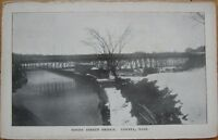 1905 Postcard - 'Moody Street Bridge - Lowell, Mass MA'