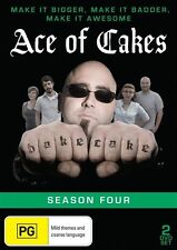 Ace Of Cakes : Season 4 (DVD, 2013, 2-Disc Set) New  Region Free
