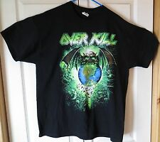 Overkill Portland Oregon Special Event Tour Shirt Unworn Size XL 2013 OR