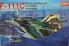 Academy Royal Australian 1/48 F-111C AArdvark RAAF Model Kit 1674