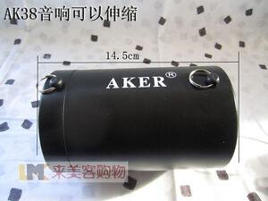 AKER AK38 25W Portable PA Voice Amplifier Booster MP3 Speaker FM + Handheld  R2