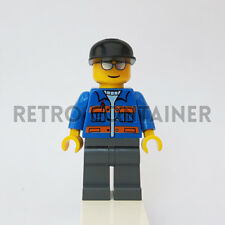 LEGO Minifigures - 1x cty150 - Truck Driver - Vintage Town Omino Minifig 7686