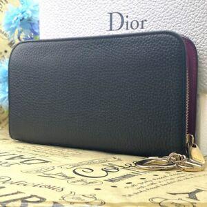 Christian Dior Geldbörse Rund Diorisshimo DE18-256