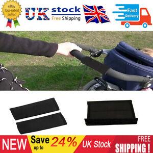 Baby Pram Stroller Pushchair Handle Grip Sleeve Bumper Bar Cover Nylon Fabric BG