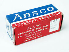 ANSCO 116 SUPERPAN PRESS, EXPIRED JULY 1953/170572