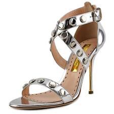 Buckle Leather Slides Sandals & Flip Flops for Women