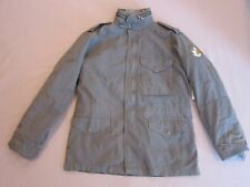 EVER BRAND WOMENS DISTRESSED GRAY BEIRUT FIELD JACKET COAT SIZE MEDIUM RARE $695