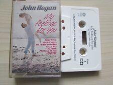 JOHN HOGAN 'MY FEELINGS FOR YOU' CASSETTE, 1988 K-TEL IRELAND, RARE, TESTED.