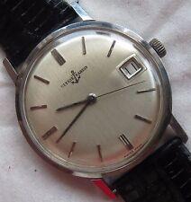 Ulysse Nardin mens wristwatch steel case screw cap load manual cal. N 65-4