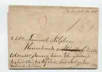 1815 Boston MA 18 3/4 WAR RATE stampless to Kennebunk ME [45.151]